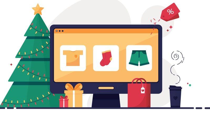 e-commerce Christmas