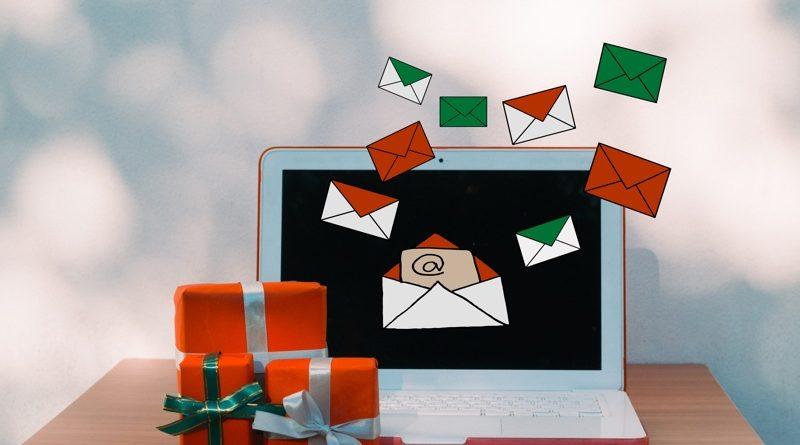 festive email marketing