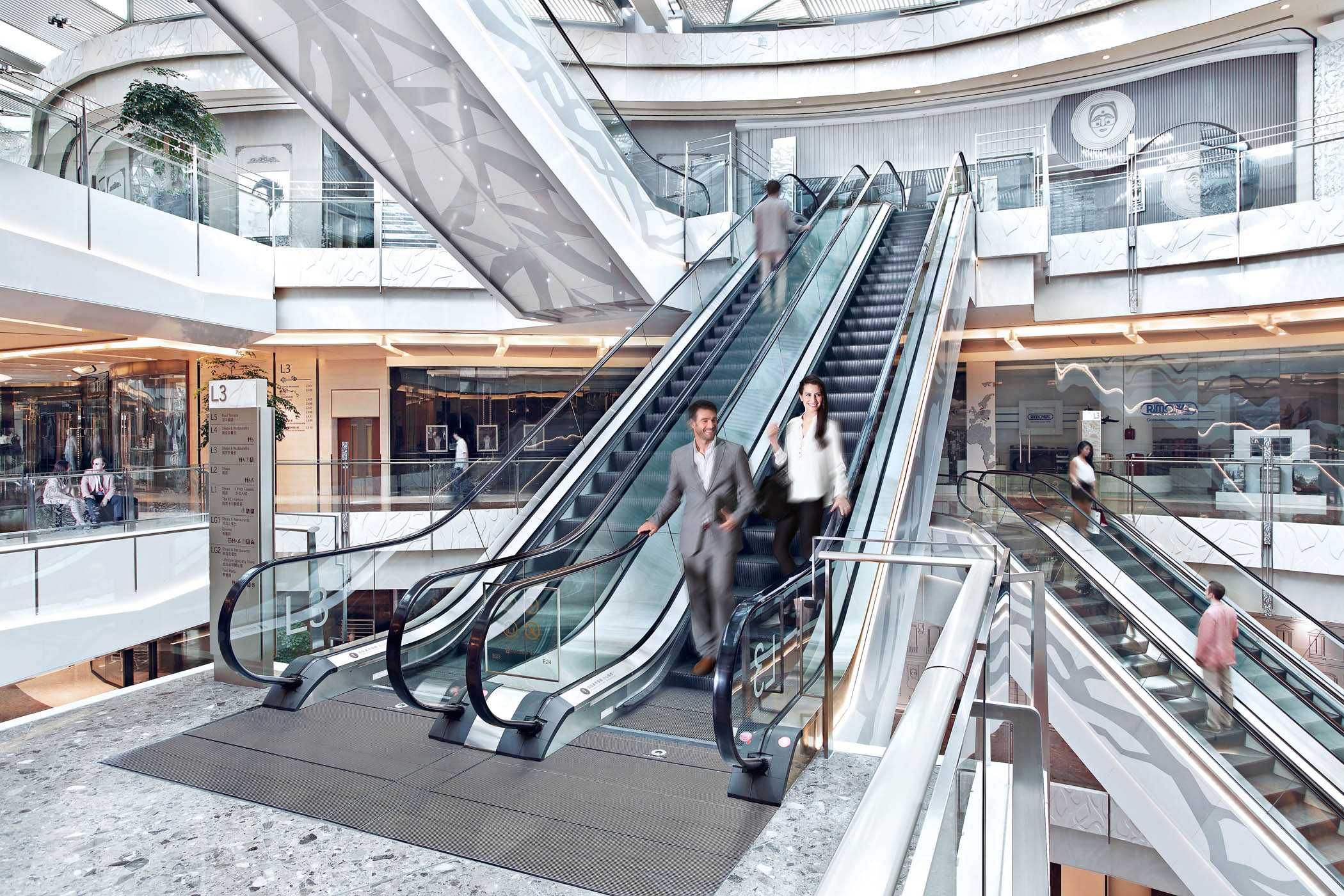 Schindler Uk Launches Energy Efficient Escalators The Uk