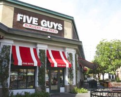 fast-food restaurants and coffee shops