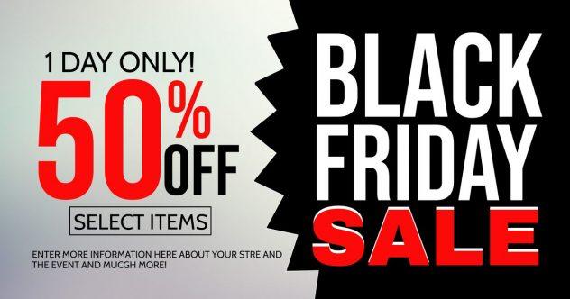 black friday holiday sales
