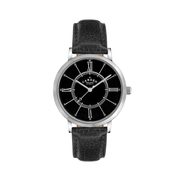 No.27 Type II Black, Black and Steel watch