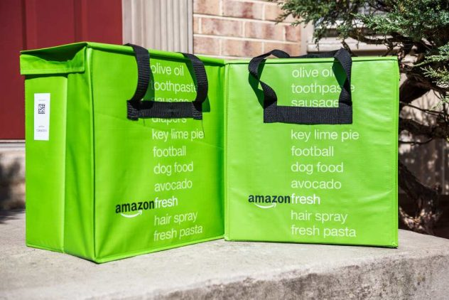 Amazon Fresh and manufacturing