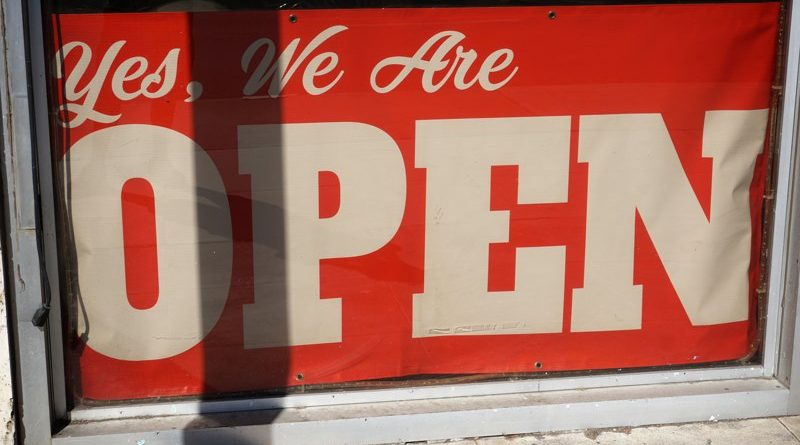 retail business back open