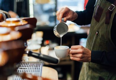 barista in speciality coffee shop